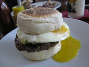 Sausage McMuffin on steroids