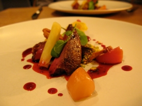 Roasted Squab - Beetroot - Pistachio