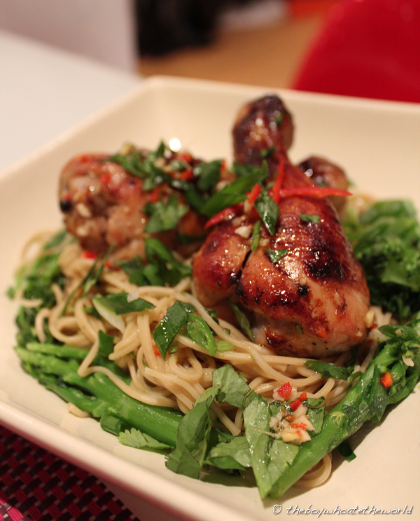 ... Chicken with Momofuku Octo Vinaigrette | the boy who ate the world