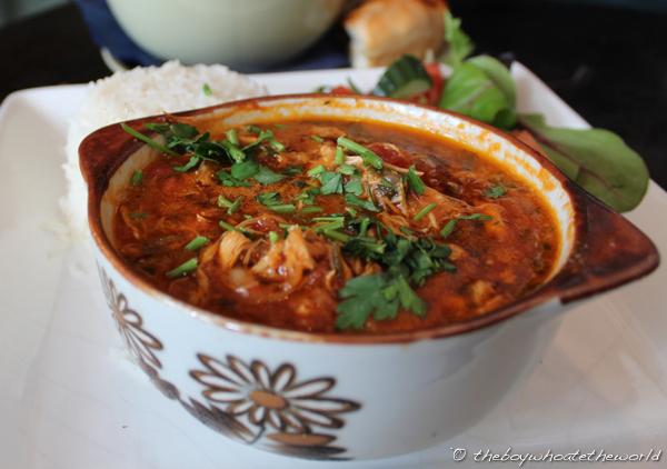 Georgian Chicken Stew