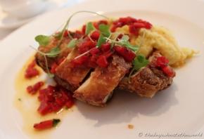 Fried Chicken - Sweetcorn - Red Polenta