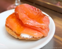Salmon, Cream Cheese & Honey