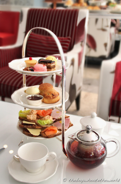 The Ampersand Hotel Terrific High Tea In The Lushest Of
