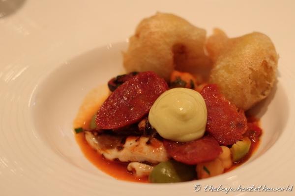Chez Bruce - Baby squid