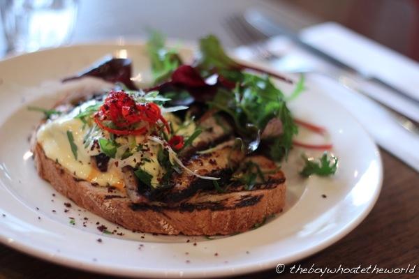 Made in Camden - Mackerel sandwich