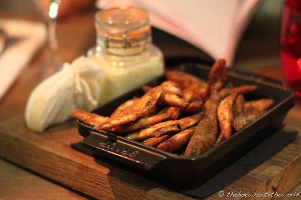 Devilled Whitebait
