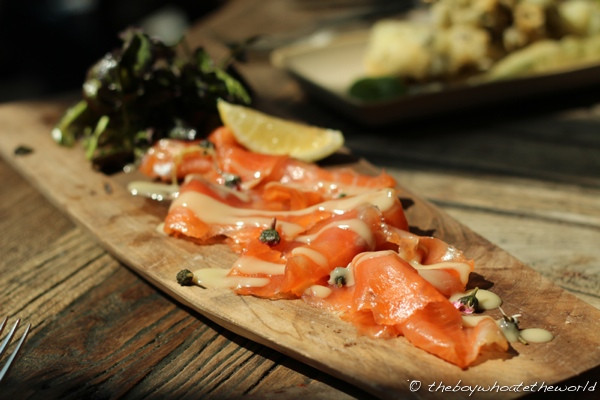 The Pig - Home Smoked Glenarm Salmon