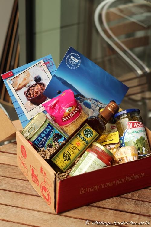 Kitchen Nomad - Greek box