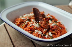 Youvetsi - Slow cooked Lamb with Orzo Pasta