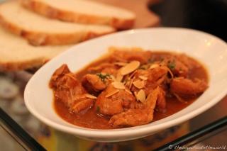 Pollo en Pepitoria (Moorish Chicken)