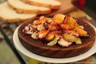 Pulpo a la Gallega (Octopus with Potatoes and Pimenton)