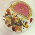 Beef Wellington stuffed with Foie and truffle