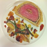 Beef Wellington stuffed with Foie Gras and Truffle