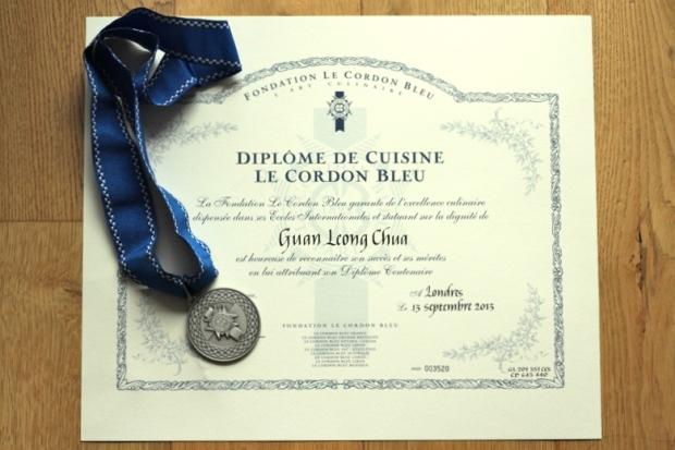 Le Cordon Bleu Cuisine Diploma