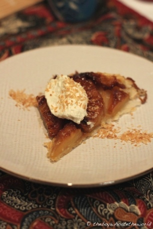 Pineapple Tarte Tatin