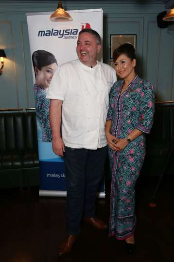 Chef Richard Corrigan @ the #MASCorrigans launch