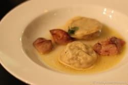 Artichoke Ravioli & Foie Gras