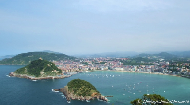 San Sebastian - View from Monte Igueldo