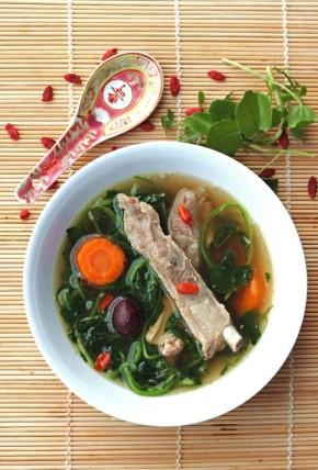 Watercress soup 2