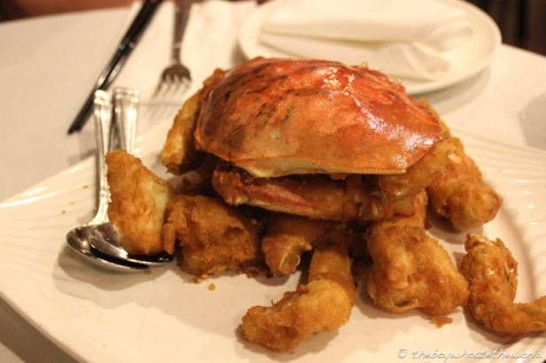 R&G's signature Salt & Pepper Dungeness Crab