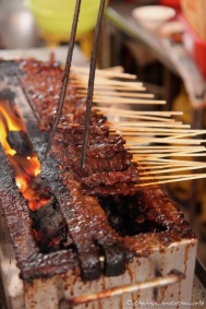 Pork Satay - Lau Ya Keng, Kuching