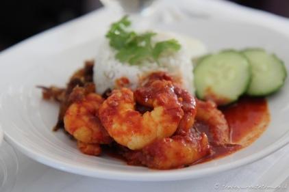 Nasi Lemak with Sambal Udang