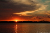 Sunset begins!