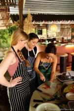 Food Goblin, Mondo Mulia & Caroline Artiss hard at work!