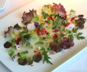Vegetable Hearts Salad with Lobster & Iodized Juice