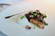 Wild Rabbit 'a la Royale' with Potato slices & Iberian Pork fillet