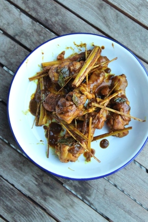 Ayam Kunyit Turmeric Chicken
