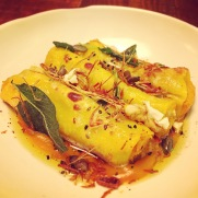Pumpkin Cannelloni - Canto Corvino, London