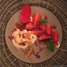 Gariguette Strawberries, orange blossom & cream