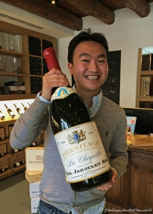 Hermitage Magnum from Paul Jaboulet Aine!
