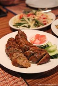 Sai Ua - smoked sausage