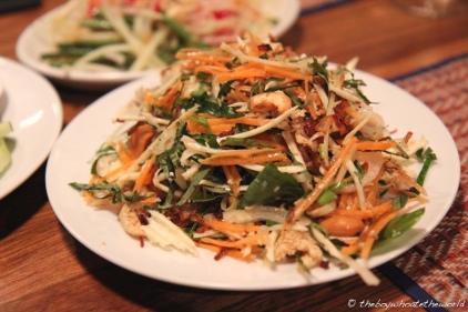 Yam Samun Phrai - Northern Thai salad