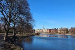 Azure skies over Djurgarden