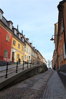 Sodermalm's streets