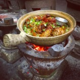 Claypot Chicken Rice - Heun Kee