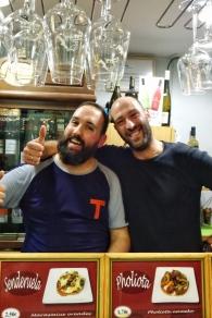 La Segunda Taberna's barmen