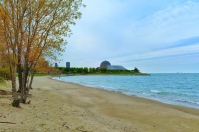 12 Street Beach & the Adler Planetarium