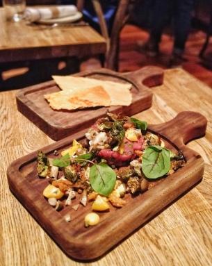 Girl & The Goat - Duck Tartare