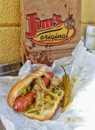 Jim's Original Maxwell Street Hot Dog