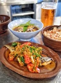 Mackerel & Burmese Beef Cheek Curries