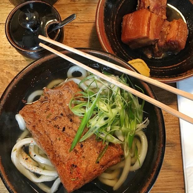 Kitsune Udon & Buta Kakuni