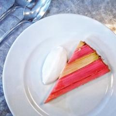 Rhubarb Tart - Brawn