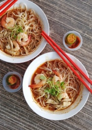 Sarawak Laksa - Poh Lam at Chong Choon Cafe
