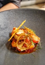 Orkney Scallop, Sobrasada, Tomatoes & Fennel - Native