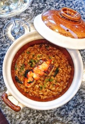Lobster Foie Gras Rice