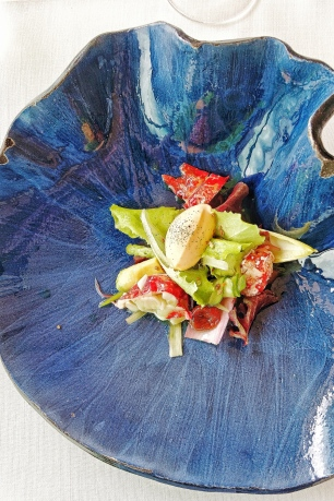 Lobster Salad & Tomato ice-cream